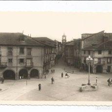 Postales: PONFERRADA - PLAZA DE LA ENCINA Y CALLE ISIDRO RUEDA - Nº 35 ED. ARRIBAS. Lote 88263328