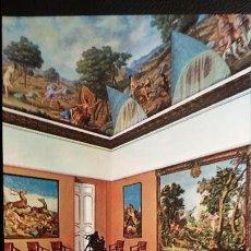 Postales: SEGOVIA - PALACIO DE RIOFRIO - MUSEO DE CAZA. Lote 91515845