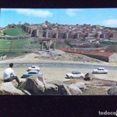 Postales: AVILA-V43-VISTA PARCIAL DE LA CIUDAD AMURALLADA. Lote 92242285