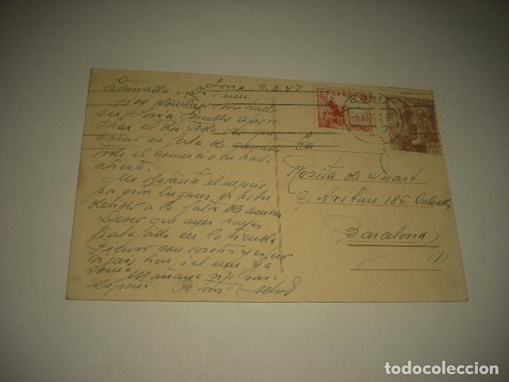 Postales: SORIA , CLAUSTROS DE SAN JUAN DE DUERO . CIRCULADA - Foto 2 - 92381460
