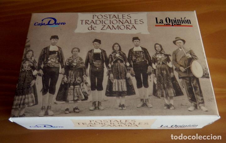 LOTE 72 REPRODUCCIONES DE POSTALES ANTIGUAS DE ZAMORA.LA OPINIÓN DE ZAMORA.CAJA DUERO 2001 (Postales - España - Castilla y León Moderna (desde 1940))