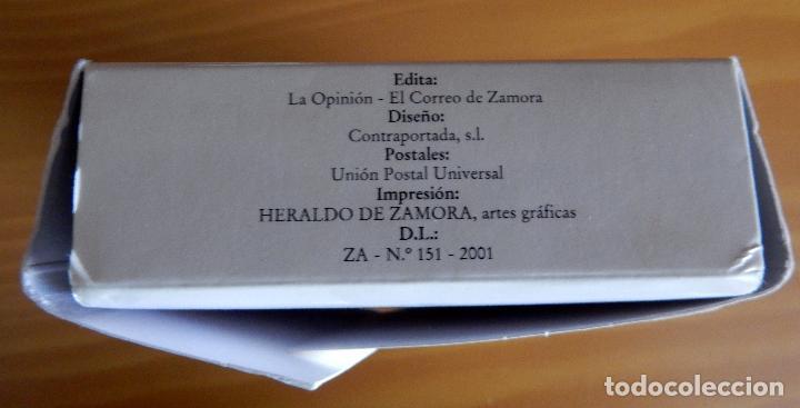 Postales: Lote 72 Reproducciones de Postales Antiguas de Zamora.La Opinión de Zamora.Caja Duero 2001 - Foto 3 - 92934900