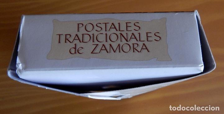 Postales: Lote 72 Reproducciones de Postales Antiguas de Zamora.La Opinión de Zamora.Caja Duero 2001 - Foto 4 - 92934900