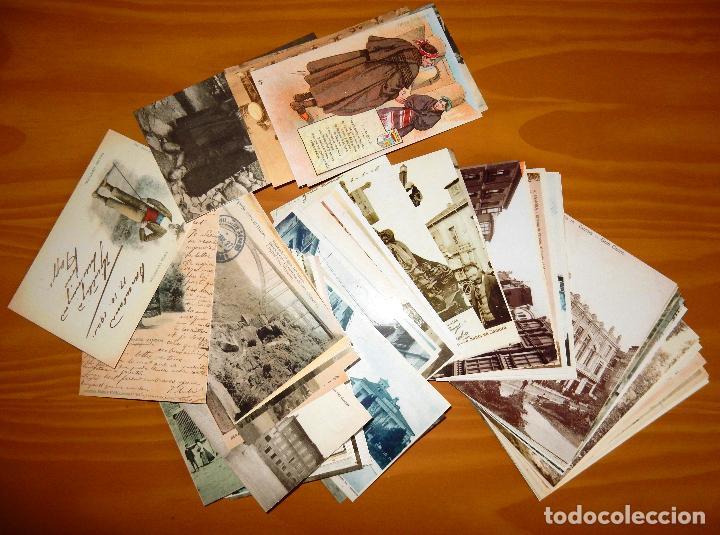 Postales: Lote 72 Reproducciones de Postales Antiguas de Zamora.La Opinión de Zamora.Caja Duero 2001 - Foto 6 - 92934900