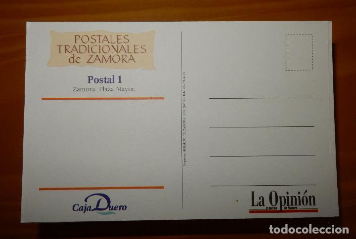 Postales: Lote 72 Reproducciones de Postales Antiguas de Zamora.La Opinión de Zamora.Caja Duero 2001 - Foto 7 - 92934900