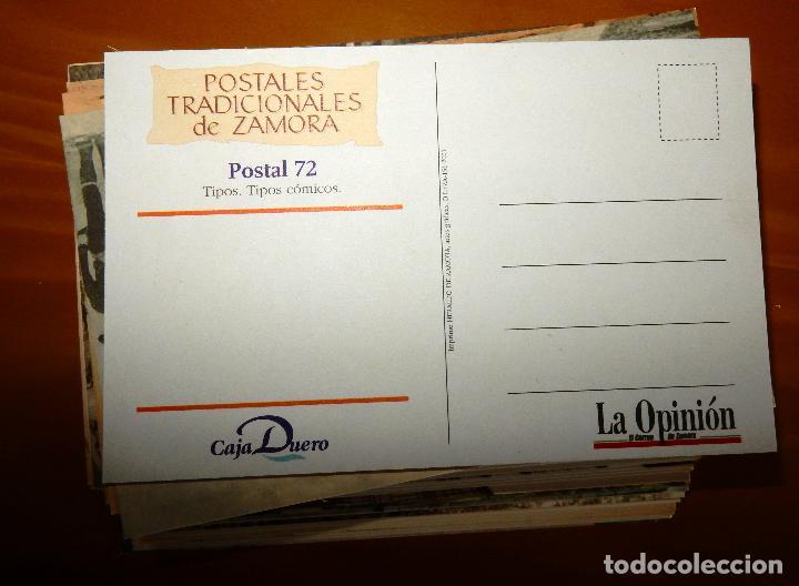Postales: Lote 72 Reproducciones de Postales Antiguas de Zamora.La Opinión de Zamora.Caja Duero 2001 - Foto 8 - 92934900