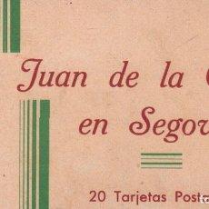 Postales: SAN JUAN DE LA CRUZ EN SEGOVIA - ALBUM POSTAL ( 20 TARJETAS POSTALES ) P.MUNDI/C. LEON-6. Lote 93322075