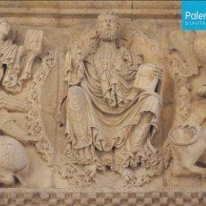 Postales: POSTAL IGLESIA DE SANTIAGO (DETALLE DEL FRISO). CARRION DE LOS CONDES. PALENCIA. Lote 93597050