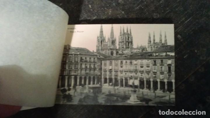 Postales: Librillo de treinta tarjetas postales Recuerdo de Burgos - Foto 2 - 93716145