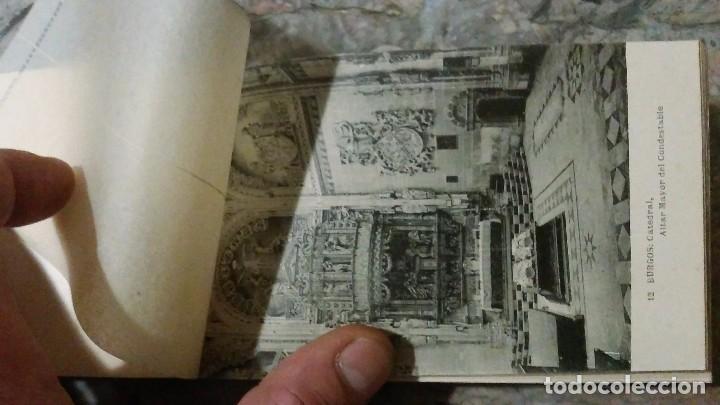 Postales: Librillo de treinta tarjetas postales Recuerdo de Burgos - Foto 3 - 93716145