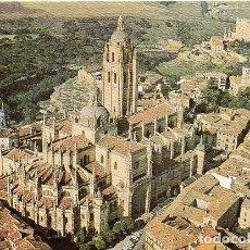 Postales: SEGOVIA - 4 CATEDRAL - VISTA AÉREA. Lote 93803320