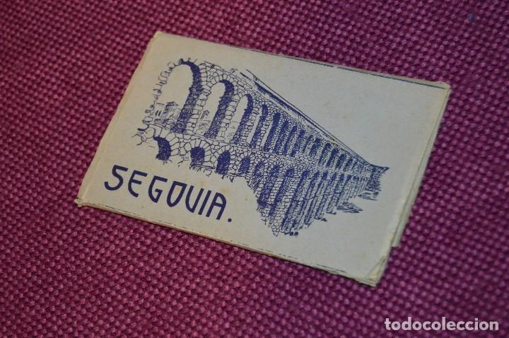 ANTIGUO LIBRITO DE 11 POSTALES DE SEGOVIA SIN CIRCULAR - RECUERDO DE SEGOVIA - VINTAGE - HAZ OFERTA (Postales - España - Castilla y León Moderna (desde 1940))