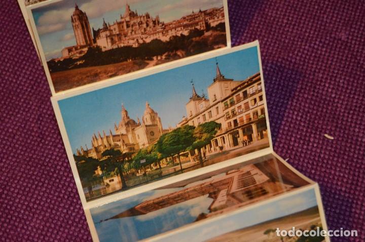 Postales: ANTIGUO LIBRITO DE 11 POSTALES DE SEGOVIA SIN CIRCULAR - RECUERDO DE SEGOVIA - VINTAGE - HAZ OFERTA - Foto 6 - 94070930