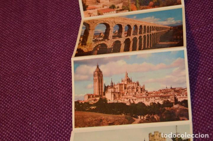 Postales: ANTIGUO LIBRITO DE 11 POSTALES DE SEGOVIA SIN CIRCULAR - RECUERDO DE SEGOVIA - VINTAGE - HAZ OFERTA - Foto 7 - 94070930