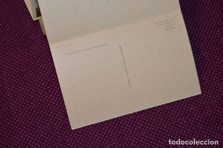 Postales: ANTIGUO LIBRITO DE 11 POSTALES DE SEGOVIA SIN CIRCULAR - RECUERDO DE SEGOVIA - VINTAGE - HAZ OFERTA - Foto 8 - 94070930