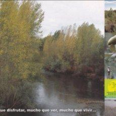 Postales: POSTAL ADESCAS. MUNICIPIOS DEL SURESTE DE LEON. Lote 95956507