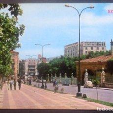Postales: SORIA -AVENIDA DE VALLADOLID- SIN CIRCULAR / P-874. Lote 95958955