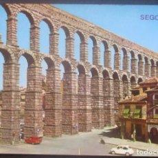 Postales: SEGOVIA -EL ACUEDUCTO- CIRCULADA / P-879. Lote 95959575