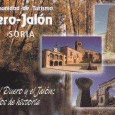 Postales: POSTAL MANCOMUNIDAD DE TURISMO DUERO - JALON. SORIA. Lote 95970951