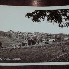 Postales: FOTO POSTAL DE AVILA, VISTA GENERAL, NO CONSTA MARCA EDITORIAL, SIN CIRCULAR. Lote 95987195