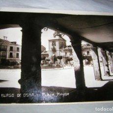 Postales: POSTAL DE BURGO DE OSMA CON CENSURA MILITAR, COMANDANCIA DE BURGOS, GUERRA CIVIL. Lote 96861575