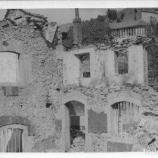 Postales: SANTA LUCIA DE GORDON LEON GUERRA CIVIL RUINAS POSTAL FOTOGRAFICA LA GAFA DE ORO LEON. Lote 96874763