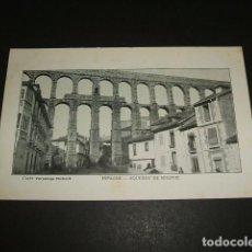 Postales: SEGOVIA EL ACUEDUCTO POSTAL EDICION FRANCESA CLICHE VERASCOPÉ RICHARD 1906. Lote 96893987