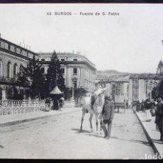 Postales: BURGOS. POSTAL ORIGINAL DE ÉPOCA . MUY BUEN ESTADO. Lote 97193279
