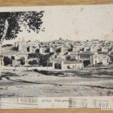 Postales: AVILA - VISTA GENERAL. Lote 97356975