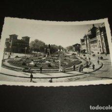 Postales: VALLADOLID JARDINES Y PASEO DE ZORRILLA. Lote 97444767