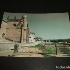 Postales: TORDESILLAS VALLADOLID IGLESIA DE SAN ANTOLIN. Lote 289302168