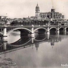 Postales: SALAMANCA - PUENTE NUEVO - 1960. Lote 97682115