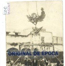 Postales: (PS-52749)POSTAL FOTOGRAFICA DE MIRANDA DE EBRO ???-GLOBO AEROSTATICO. Lote 221735413