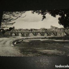 Postales: ZAMORA PUENTE Y VISTA POSTAL FOTOGRAFICA. Lote 194364632