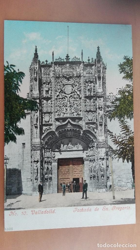 Nº 10. VALLADOLID - FACHADA DE SAN GREGORIO (Postales - España - Castilla y León Antigua (hasta 1939))