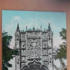 Postales: Nº 10. VALLADOLID - FACHADA DE SAN GREGORIO. Lote 97767427