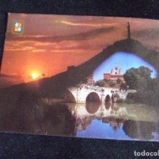 Postales: PALENCIA-V44-NO ESCRITA-CRISTO DEL OTERO Y PUENTECILLAS-Nº32-ESCUDO DE ORO. Lote 97825667
