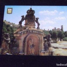 Postales: SEGOVIA-V44-NO ESCRITA-ESCUDO DE ORO-ARCO DE LA FUENCISLA. Lote 97855379