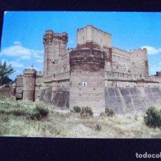 Postales: VALLADOLID-V44-CIRCULADA-CASTILLOS DE ESPAÑA-DE LA MOTA-MEDINA DEL CAMPO. Lote 97857875