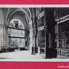 Postales: ANTIGUA POSTAL BURGOS - CATEDRAL, DETALLE NAVE IZQUIERDA - EDICIONES LOTY.. R-7523. Lote 98197931