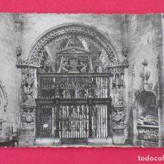 Postales: ANTIGUA POSTAL BURGOS - CATEDRAL, CAPILLA DEL CONDESTABLE - HELIOTIPIA MADRID.. R-7524. Lote 98198011