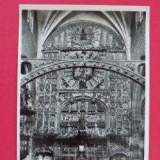 Postales: ANTIGUA POSTAL BURGOS - RETABLO DE SAN NICOLAS - EDIC.MANIPEL... R-7535. Lote 98199399