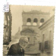Postales: (PS-52784) FOTOGRAFIA DE DON MIGUEL DE UNAMUNO EN SALAMANCA. Lote 98369295