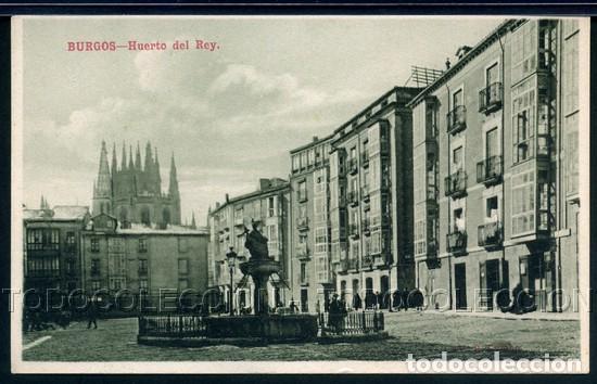 POSTAL BURGOS HUERTO DEL REY . VB CUMBO KNACKSTEDT & NATHER CA 1910-20 (Postales - España - Castilla y León Antigua (hasta 1939))