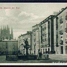 Postales: POSTAL BURGOS HUERTO DEL REY . VB CUMBO KNACKSTEDT & NATHER CA 1910-20. Lote 98577819