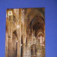 Postales: POSTAL DE LEON. CATEDRAL. ED. SUBI. SIN CIRCULAR.. Lote 98691251