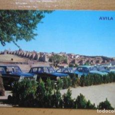 Postales: AVILA. VISTA GENERAL. (ED. PARIS Nº796). COCHES.. Lote 98693755