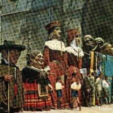 Postales: BURGOS - LOS GIGANTONES Y GIGANTILLOS. Lote 98695343