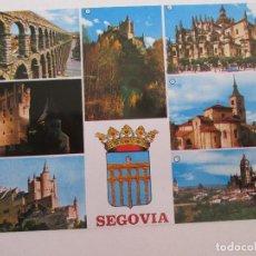 Postales: POSTAL SEGOVIA - VARIOS ASPECTOS - 1968 - MANIPEL - SIN CIRCULAR. Lote 98849059