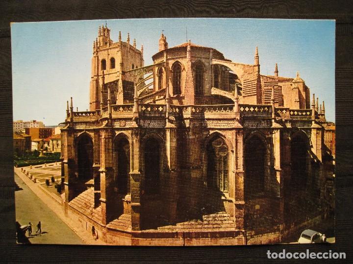 POSTAL PALENCIA - SANTA IGLESIA CATEDRAL. (Postales - España - Castilla y León Moderna (desde 1940))